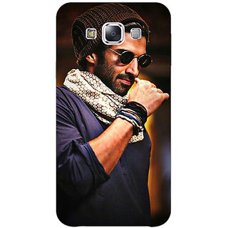 1 Crazy Designer Bollywood Superstar Aditya Roy Kapoor Back Cover Case For Samsung Galaxy E5 C440912