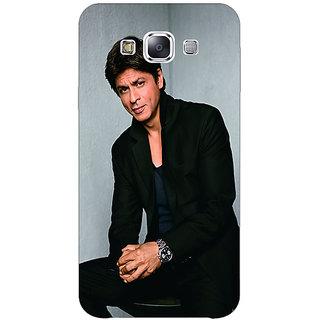 1 Crazy Designer Bollywood Superstar Shahrukh Khan Back Cover Case For Samsung Galaxy E5 C440920