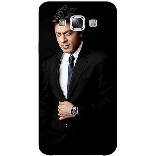 1 Crazy Designer Bollywood Superstar Shahrukh Khan Back Cover Case For Samsung Galaxy E5 C440926