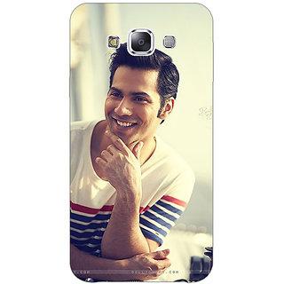 1 Crazy Designer Bollywood Superstar Varun Dhawan Back Cover Case For Samsung Galaxy E5 C440930