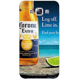 1 Crazy Designer Corona Beer Back Cover Case For Samsung Galaxy A7 C431237