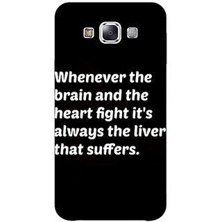 1 Crazy Designer Beer Quote Back Cover Case For Samsung Galaxy A7 C431239