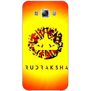 1 Crazy Designer Rudraksha Back Cover Case For Samsung Galaxy A7 C431264