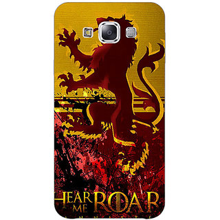 1 Crazy Designer Game Of Thrones GOT House Lannister Back Cover Case For Samsung Galaxy A7 C431540