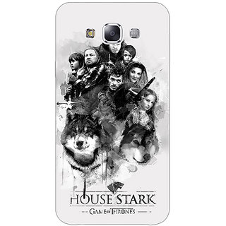 1 Crazy Designer Game Of Thrones GOT House Stark Back Cover Case For Samsung Galaxy A7 C431541