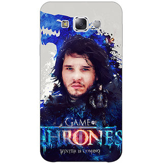 1 Crazy Designer Game Of Thrones GOT Jon Snow House Stark Back Cover Case For Samsung Galaxy A7 C431548