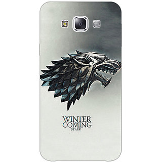 1 Crazy Designer Game Of Thrones GOT House Stark Back Cover Case For Samsung Galaxy A7 C431554