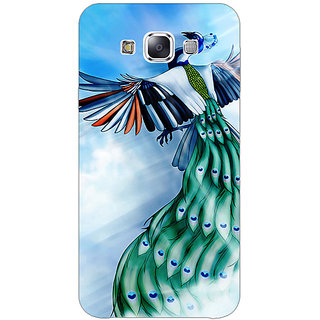 1 Crazy Designer Paisley Beautiful Peacock Back Cover Case For Samsung Galaxy A7 C431576