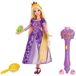 disney princess enchanted hair rapunzel doll