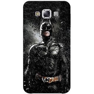 1 Crazy Designer Superheroes Batman Dark knight Back Cover Case For Samsung Galaxy E5 C440016