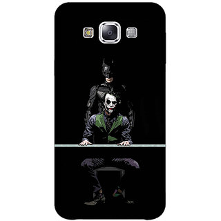 1 Crazy Designer Superheroes Batman Dark knight Back Cover Case For Samsung Galaxy E5 C440017