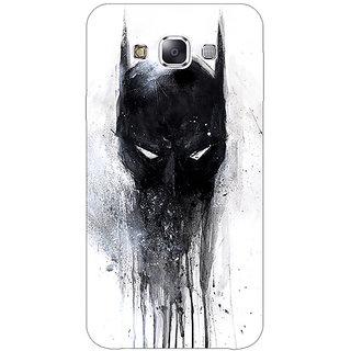1 Crazy Designer Superheroes Batman Dark knight Back Cover Case For Samsung Galaxy E5 C440019
