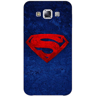 1 Crazy Designer Superheroes Superman Back Cover Case For Samsung Galaxy E5 C440022