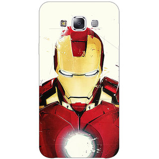 1 Crazy Designer Superheroes Ironman Back Cover Case For Samsung Galaxy E5 C440023