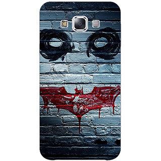1 Crazy Designer Villain Joker Back Cover Case For Samsung Galaxy E5 C440028