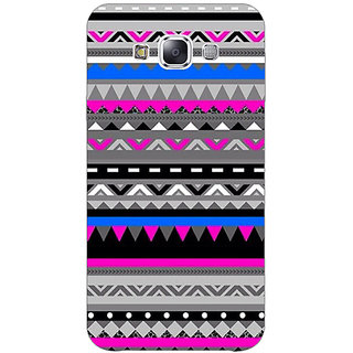 1 Crazy Designer Aztec Girly Tribal Back Cover Case For Samsung Galaxy E5 C440059
