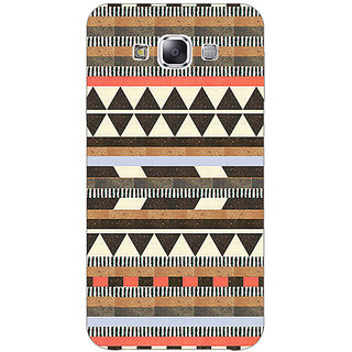 1 Crazy Designer Aztec Girly Tribal Back Cover Case For Samsung Galaxy E5 C440062