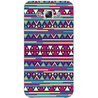 1 Crazy Designer Aztec Girly Tribal Back Cover Case For Samsung Galaxy E5 C440063