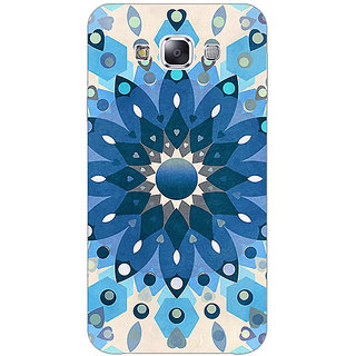 1 Crazy Designer Dream Flower Pattern Back Cover Case For Samsung Galaxy E5 C440255