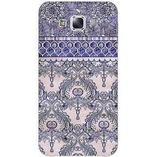 1 Crazy Designer Vintage English Pattern Back Cover Case For Samsung Galaxy E5 C440259