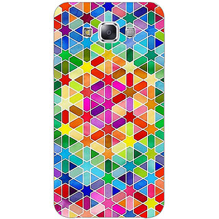 1 Crazy Designer Hexagon Star Pattern Back Cover Case For Samsung Galaxy E5 C440280