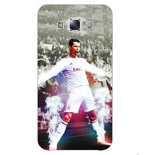 1 Crazy Designer Cristiano Ronaldo Real Madrid Back Cover Case For Samsung Galaxy E5 C440305