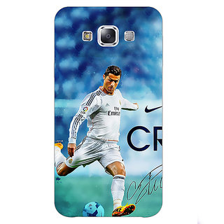 1 Crazy Designer Cristiano Ronaldo Real Madrid Back Cover Case For Samsung Galaxy E5 C440313