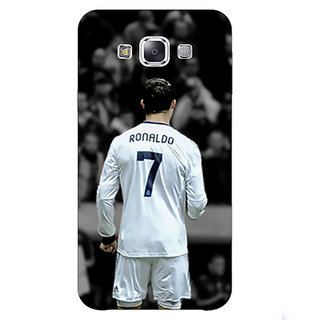 1 Crazy Designer Cristiano Ronaldo Real Madrid Back Cover Case For Samsung Galaxy E5 C440315