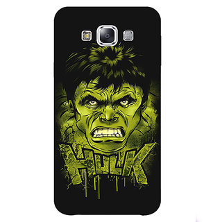 1 Crazy Designer Superheroes Hulk Back Cover Case For Samsung Galaxy A7 C430324