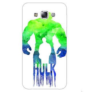 1 Crazy Designer Superheroes Hulk Back Cover Case For Samsung Galaxy A7 C430325