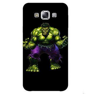 1 Crazy Designer Superheroes Hulk Back Cover Case For Samsung Galaxy A7 C430327