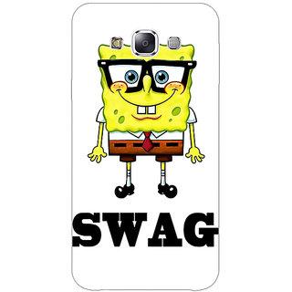 1 Crazy Designer Spongebob Back Cover Case For Samsung Galaxy E5 C440473
