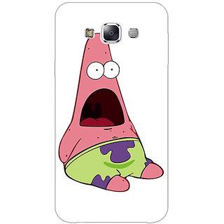 1 Crazy Designer Spongebob Patrick Back Cover Case For Samsung Galaxy E5 C440475