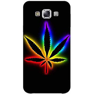 1 Crazy Designer Weed Marijuana Back Cover Case For Samsung Galaxy E5 C440492