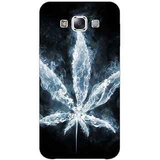 1 Crazy Designer Weed Marijuana Back Cover Case For Samsung Galaxy E5 C440498