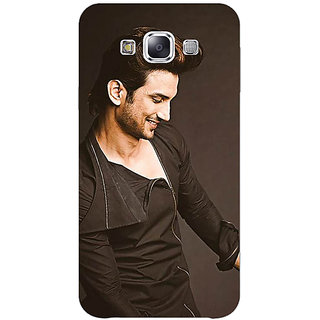 1 Crazy Designer Bollywood Superstar Sushant Singh Rajput Back Cover Case For Samsung Galaxy E5 C440949