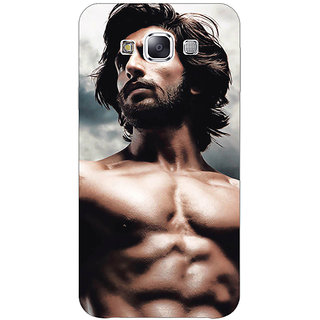 1 Crazy Designer Bollywood Superstar Ranveer Singh Back Cover Case For Samsung Galaxy E5 C440950