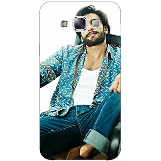 1 Crazy Designer Bollywood Superstar Ranveer Singh Back Cover Case For Samsung Galaxy E5 C440955