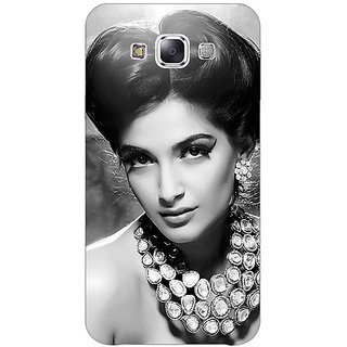1 Crazy Designer Bollywood Superstar Sonam Kapoor Back Cover Case For Samsung Galaxy E5 C440971