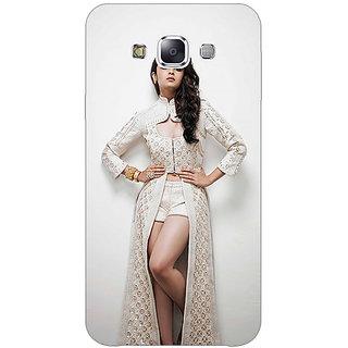 1 Crazy Designer Bollywood Superstar Alia Bhatt Back Cover Case For Samsung Galaxy E5 C440983