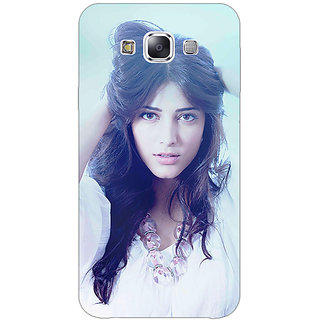 1 Crazy Designer Bollywood Superstar Shruti Hassan Back Cover Case For Samsung Galaxy E5 C440988