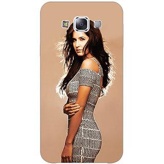 1 Crazy Designer Bollywood Superstar Katrina Kaif Back Cover Case For Samsung Galaxy E5 C440993