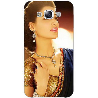 1 Crazy Designer Bollywood Superstar Nargis Fakhri Back Cover Case For Samsung Galaxy E5 C440997