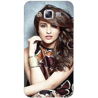 1 Crazy Designer Bollywood Superstar Parineeti Chopra Back Cover Case For Samsung Galaxy E5 C440999