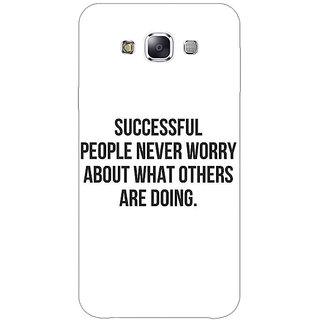 1 Crazy Designer Quotes Back Cover Case For Samsung Galaxy E5 C441194