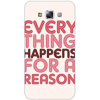 1 Crazy Designer Good Quote Back Cover Case For Samsung Galaxy E5 C441201
