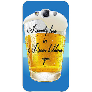 1 Crazy Designer Beer Holder Back Cover Case For Samsung Galaxy E5 C441208