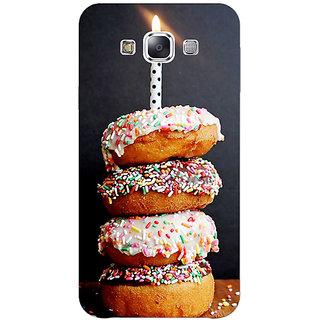 1 Crazy Designer Donut Birthday Back Cover Case For Samsung Galaxy E5 C441218