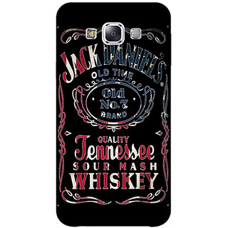 1 Crazy Designer Jack Daniels JD Whisky Back Cover Case For Samsung Galaxy E5 C441223
