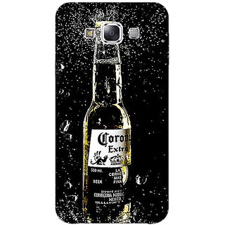 1 Crazy Designer Corona Beer Back Cover Case For Samsung Galaxy E5 C441232